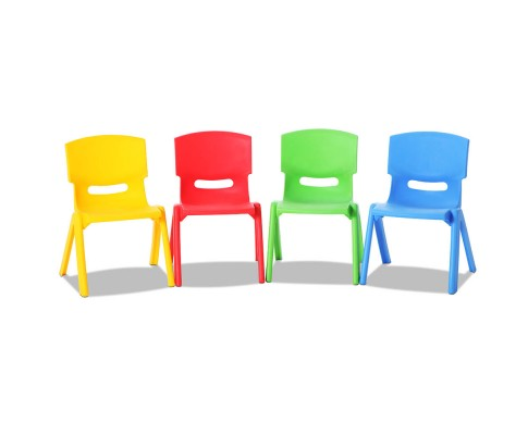 Keezi Children's Set of 4 Kids Play Chairs