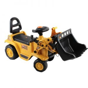 Kids Ride On Bulldozer -Yellow