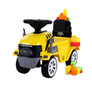 Kids Ride On Car w/ Building Blocks