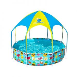 Bestway Children's Above Ground Swimming Pool with Mist Shade