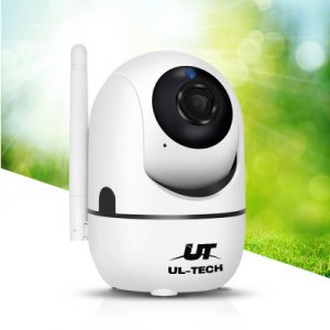 UL-TECH 1080P Wireless IP Camera CCTV Security System Baby Monitor White