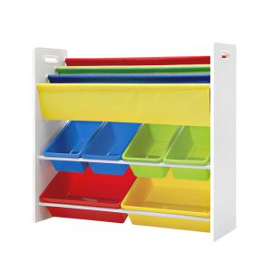 Kids Bookshelf Toy Storage 3 Tiers