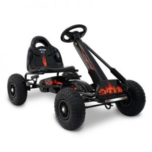 Kids Pedal Powered Go Kart Racing Bike Black