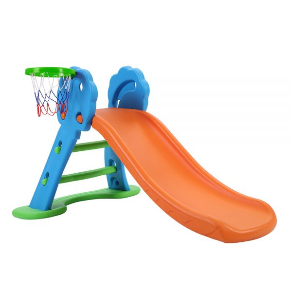 Basketball Hoop with Ladder Base Outdoor Indoor Playground