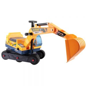 Kids Ride On Excavator-yellow