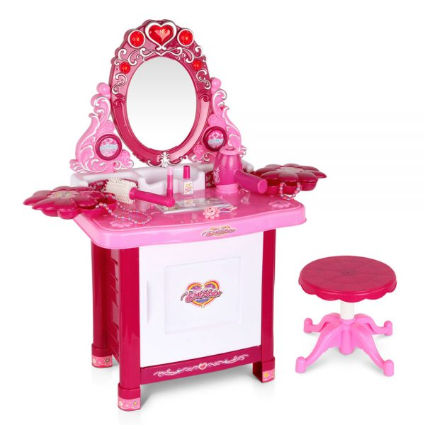 Princess Make Up 30 Piece Pink Dressing Table Set