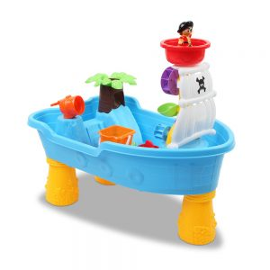 Keezi Children's Sand and Water 20 Piece Pirate Set - Blue