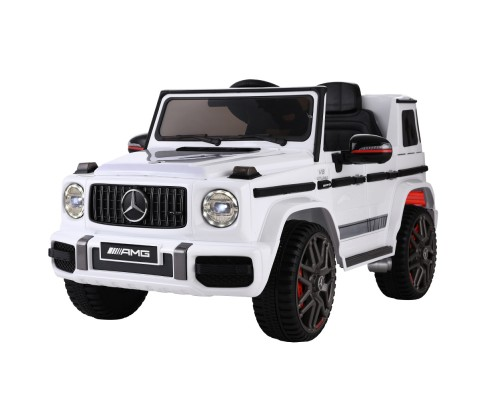 Children's Electric Mercedes-Benz Ride On Car AMG G63 12V White