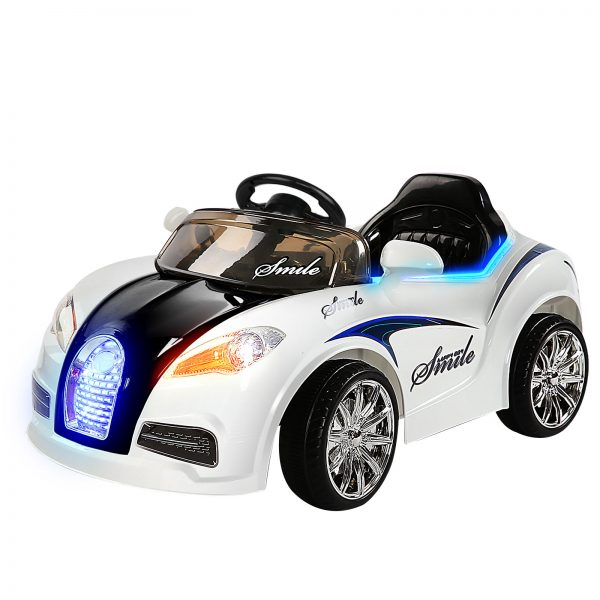 Bugatti Inspired Kids Ride On Car-Black&White