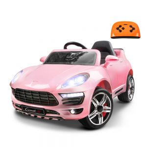 Children's Pink Ride On Car