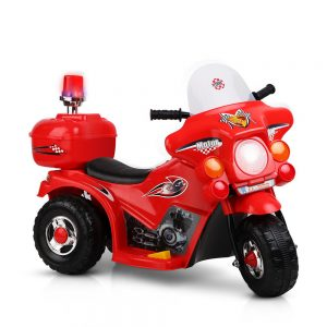 Kids Ride On Red Motorbike Motorcycle