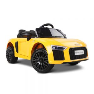Kids Yellow Ride On Audi R8