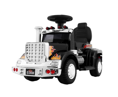 Children's Electric Ride On Cars Battery Truck Black