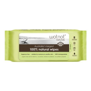 Wotnot Extra-Large Travel Wipes x 20 Pack Hard Case Refill