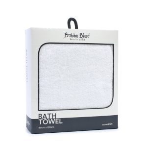 Everyday Essentials Bath Towel - White