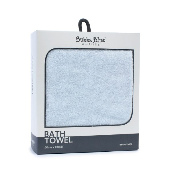 Everyday Essentials Bath Towel - Blue