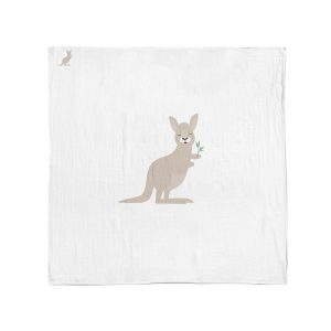 Aussie Animals Kangaroo Muslin Wrap