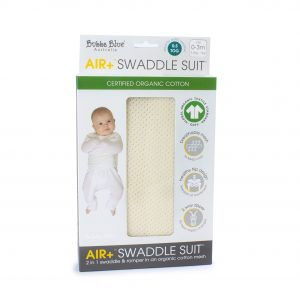Air+ Swaddle Suit Vanilla