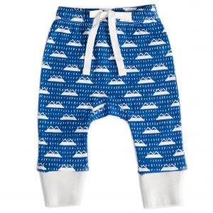 Organic Cotton Baby Pant - SNOW MOUNTAIN NAVY