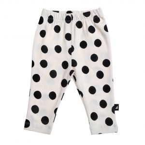 Spot AOP Leggings Lily White