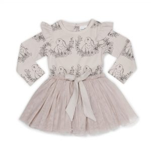Bunny Tutu Bow Dress