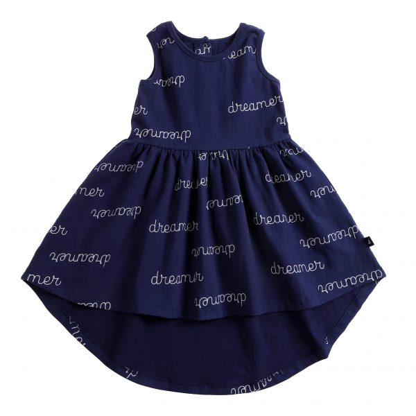 Anarkid Dreamer AOP Sleeveless Dress Navy