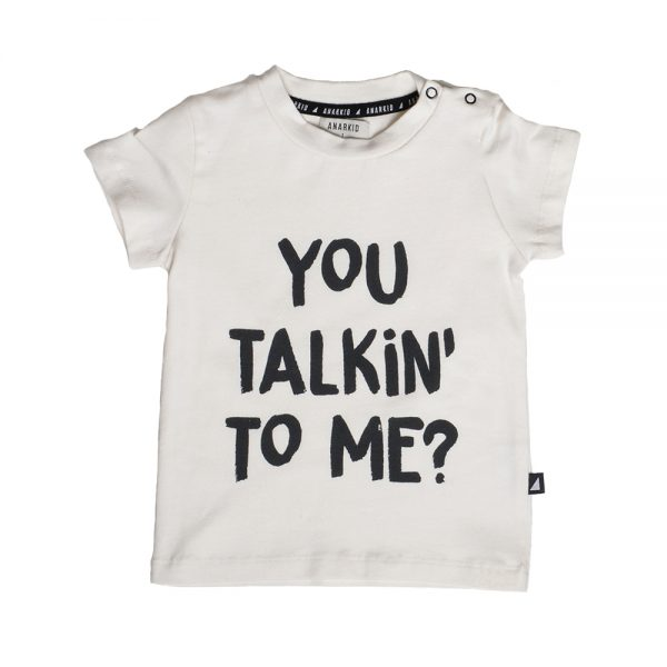 Anarkid You Talking To Me SS Tee Chalk