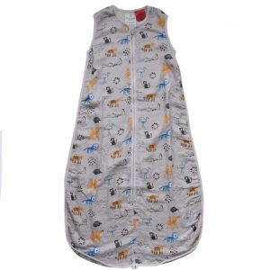 Plum Bamboo Muslin Sleepbag Watercolour Jungle 0.5Tog