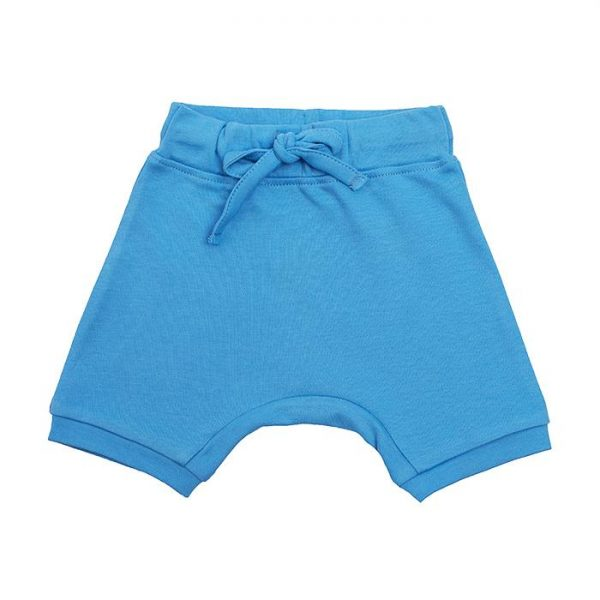 Organic Cotton Baby Shorts - Blue