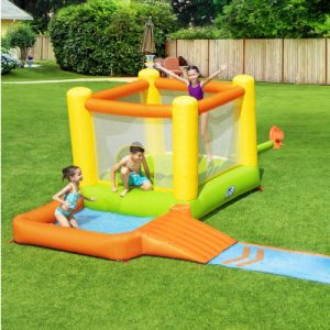Bestway Inflatable Water Slide Water Park Jumping Splash Slides