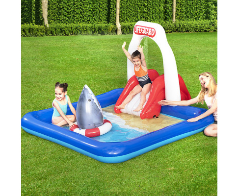 Bestway Inflatable Above Ground Swimming Pool Lifeguard Slide