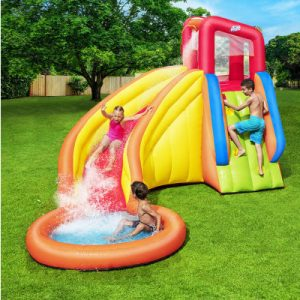 Bestway Inflatable Water Slide Park Jumping Castle Playground