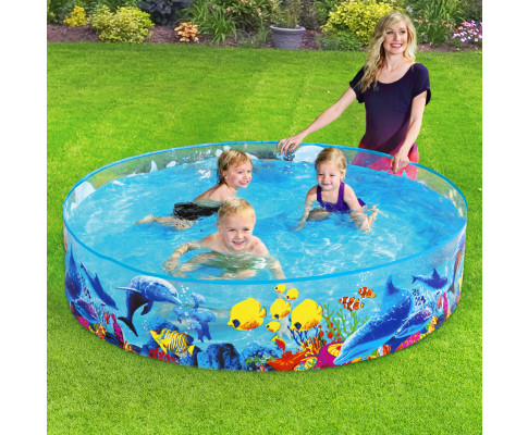 Bestway Above Ground Kids Swimming Pools Fun Odyssey